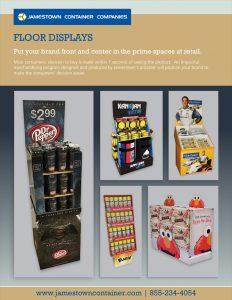 Floor Display Sell Sheet