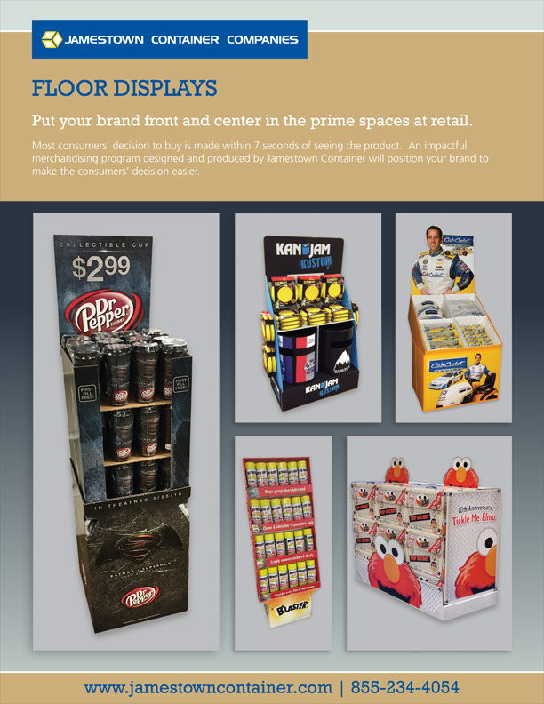Floor Display Sell Sheet