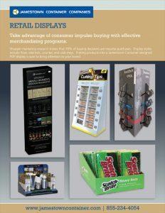 Retail Display Sell Sheet