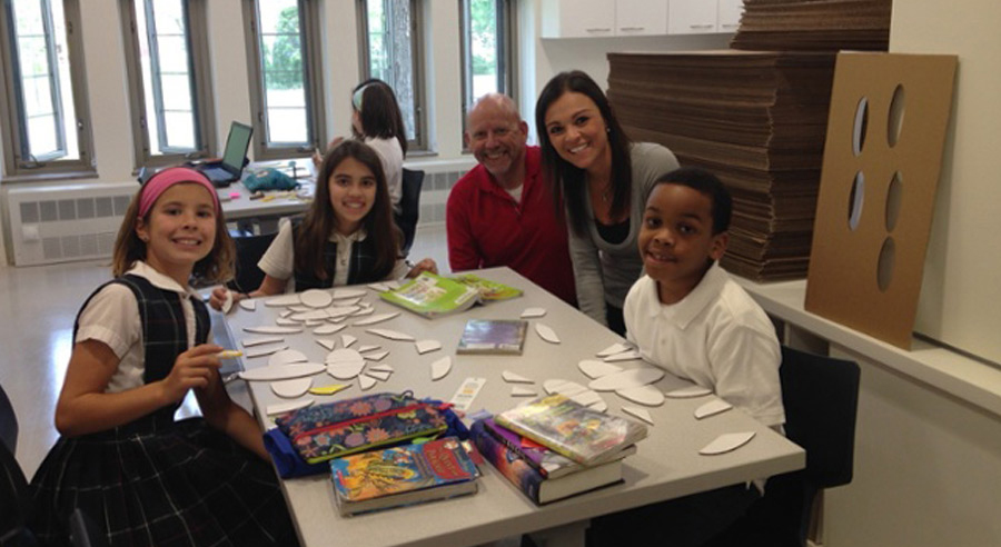 Jamestown helps GESU students think outside the box