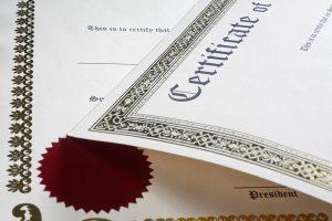 Jamestown Certifications