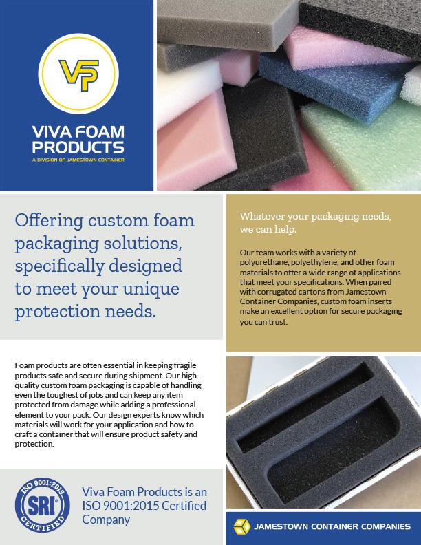 Viva Foam Products Custom Foam Packaging