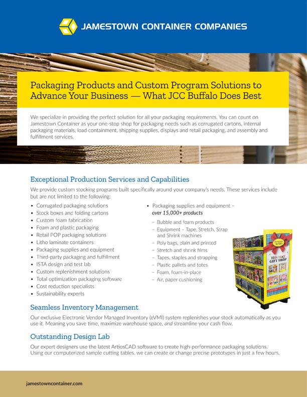 JCC Buffalo Facility Sell Sheet