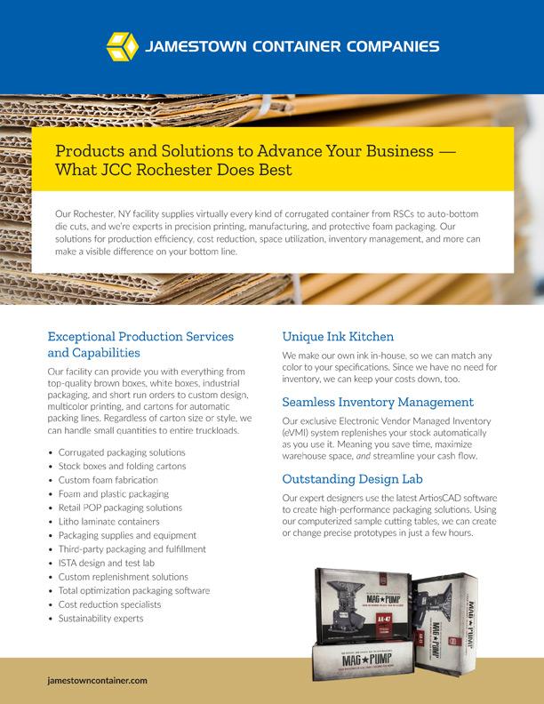JCC Rochester Facility Sell Sheet