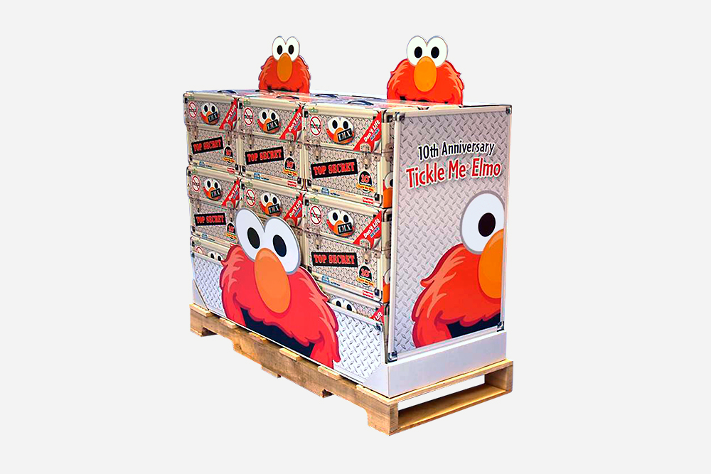 Elmo Pallet Retail Display