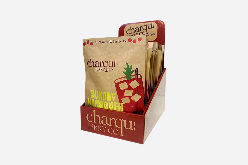 Charqui Jerky Corrugated Retail Display